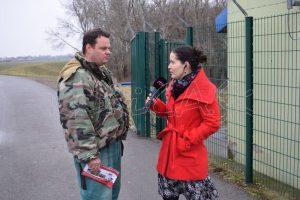 O význame vodného diela na Laborci informuje Marian Puchľak