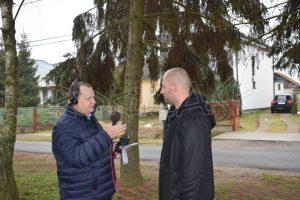 Juraj Talnagi predstavuje miestne poľovnícke združenie