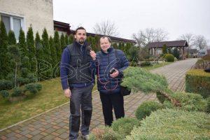 O svojich plánoch informuje záhradník Michal Ondovčin
