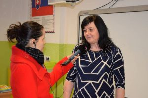 Problémy so vzdelávaním približuje riaditeľka školy Andrea Ivanová