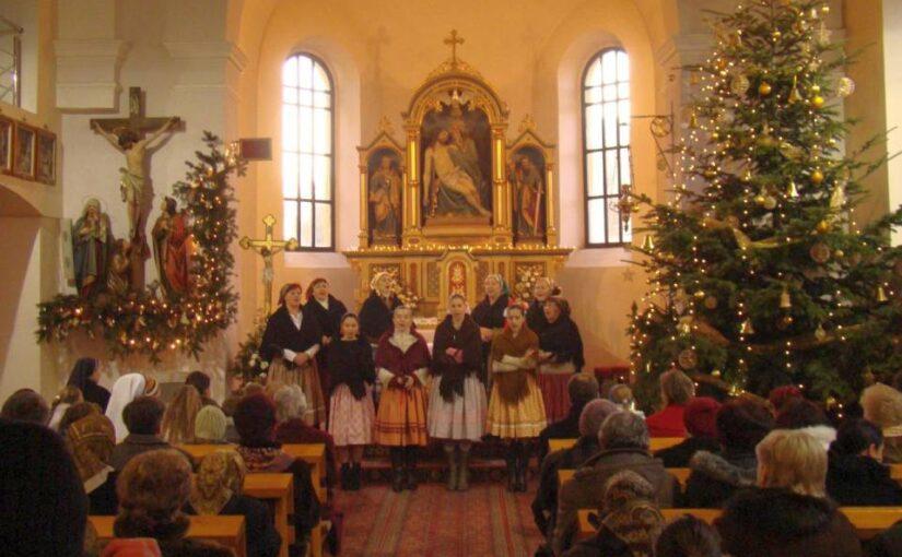 Vianočné koncerty patrili k našej činnosti od začiatku